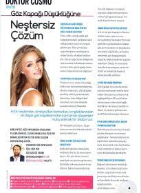 Cosmopolitan – Op. Dr. Özer Kavalcıoğlu – Ameliyatsız Plazma Enerjisi ile Göz Kapağı Tedavisi