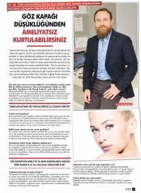 Klass Magazin – Op. Dr. Özer Kavalcıoğlu – Ameliyatsız Plazma Enerjisi ile Göz Kapağı Tedavisi