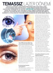 Marie Claire Dergisi – Op. Dr. Ertan Sunay – No Touch Laser