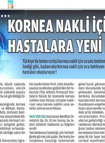 Yeni Vizyon – Op. Dr. Ertan Sunay – Keratokonus