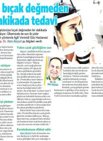 Vatan Gazetesi Makaron – Op. Dr. Akın Akyurt – No Touch Laser