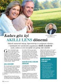 Aysha Dergisi – Op. Dr. Özer Kavalcıoğlu – Akıllı Lensler