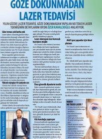 Cosmopolitan Dergisi – Op. Dr. Özer Kavalcıoğlu – No Touch Laser