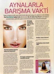 Cosmopolitan Dergisi – Op. Dr. Sultan Kaya Ünsal – Göz Kapağı Cerrahisi
