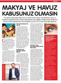 Cosmopolitan Dergisi – Op. Dr. Özer Kavalcıoğlu – Makyaj ve Havuz Kabusunuz Olmasın