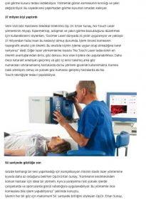Sözcü – Op.Dr.Ertan Sunay – No Touch Laser