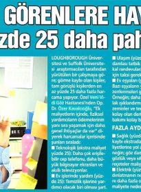 Güneş Gazetesi – Op. Dr. Özer Kavalcıoğlu – Göz Sağlığı