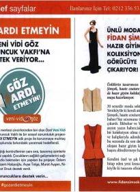 Hello Türkiye Dergisi – Veni Vidi Göz & Koruncuk Vakfı – Göz Ardı Etmeyin