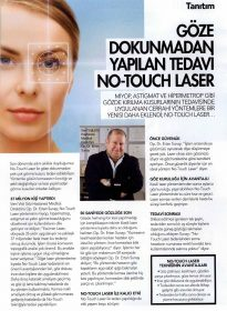 Marie Claire – Opr. Dr. Ertan Sunay – No Touch Laser
