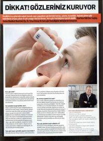 Mens Health – Op. Dr. Ertan SUNAY – Kuru Göz Tedavisi