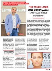 Klass Magazin – Op.Dr. Ahmet Gökdere – No Touch Laser