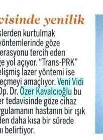 Formsante – Op. Dr. Özer Kavalcıoğlu – TransPRK