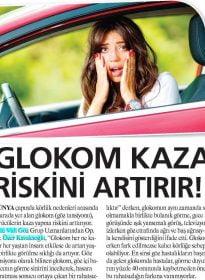 Güneş Gazetesi – Op. Dr. Özer Kavalcıoğlu – Glokom