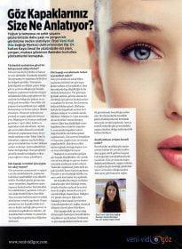 Woman's Health – Op. Dr. Sultan Kaya Ünsal – Göz Kapağı Cerrahisi