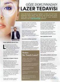 All Dergisi – Op. Dr. Özer Kavalcıoğlu – No Touch Laser
