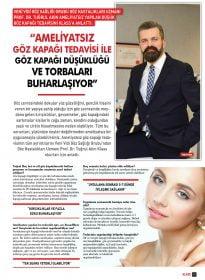 Klass Magazin – Prof.Dr. Tuğrul Akın – Ameliyatsız Göz Kapağı Tedavisi