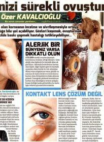 Sözcü – Op. Dr. Özer Kavalcıoğlu – Keratokonus