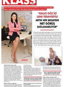 Klass Magazin – Op.Dr. Sultan Kaya Ünsal – Akıllı Lensler