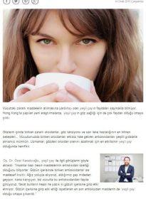 Habertürk Sitesi – Op. Dr. Özer Kavalcıoğlu – Göz Sağlığı