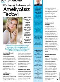 Op. Dr. Sadi Sızmaz – Cosmopolitan – Ameliyatsız Göz Kapağı