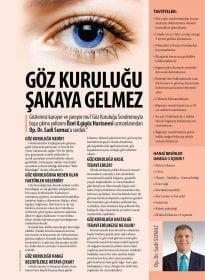 Op. Dr. Sadi Sızmaz – Cosmopolitan – Göz Kuruluğu