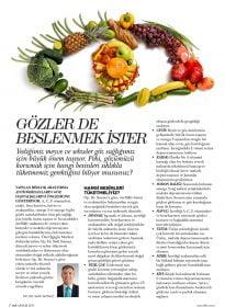 Op. Dr. Sadi Sızmaz – Elele Dergisi – Gözlerde Beslenmek İster