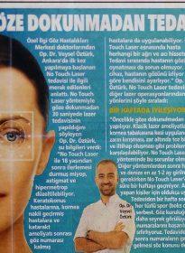 Op. Dr. Veysel Öztürk – Posta – No Touch Laser