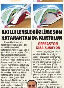 Op. Dr. Serhan Gazyağcı – Akıllı Lens