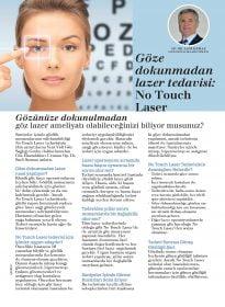 Op. Dr. Sadi Sızmaz – Aysha Dergisi – No Touch Laser