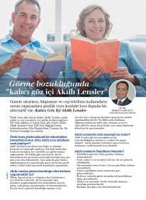 Op. Dr. Serhan Gazyağcı – Aysha Dergisi – Kalıcı Göz İçi Akıllı Lens