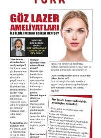 """Op. Dr. Rıza Duacı – Habertürk Gazetesi – """"Göz Lazer Ameliyatları İle İlgili Merak Edilen Her Şey"""""""