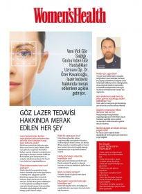 Op. Dr. Özer Kavalcıoğlu –  Women's Health Şubat – Göz Lazer Tedavisi Hakkında Merak Edilen Her Şey