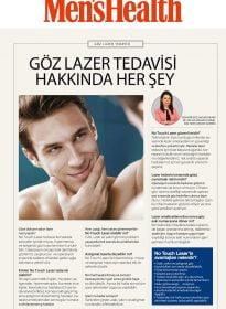Op. Dr. Sultan Kaya Ünsal – Men's Health – Göz Lazer Tedavisi Hakkında Her Şey