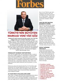 İbrahim Bayraktaroğlu – Forbes Dergisi