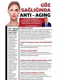 Op. Dr. Akın Akyurt – Milliyet – Göz Sağlığında Anti-Aging