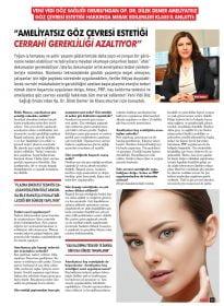 Op. Dr. Dilek Demer – Klass Magazin – Ameliyatsız Göz Çevresi Estetiği