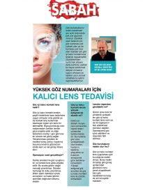 Op. Dr. Ertan Sunay – Sabah – Yüksek Göz Numaraları için Kalıcı Lens Tedavisi