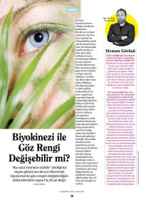 Op. Dr. Özer Kavalcıoğlu – Cosmopolitan Fit&Light – Biyokinezi ile Göz Rengi Değişebilir mi?