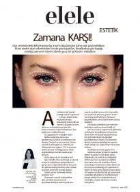 Op. Dr. Tülin Karakaya – Elele Dergisi – Ameliyatsız Göz Kapağı Estetiği