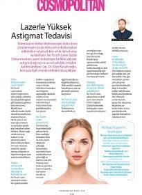 Op. Dr. Özer Kavalcıoğlu – Cosmopolitan – Lazerle Yüksek Astigmat Tedavisi