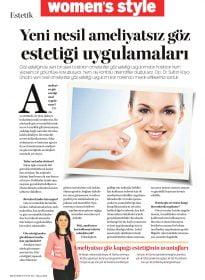Op. Dr. Sultan Kaya Ünsal – Women's Style – Yeni Nesil Ameliyatsız Göz Estetiği Uygulamaları
