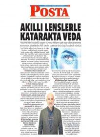 Op. Dr. Nihat Karakaya – Posta – Akıllı Lenslerle Katarakta Veda