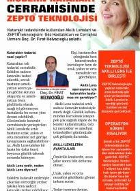 Doc. Dr. Fırat Helvacıoğlu – Sabah – Katarakt Cerrahisinde Zepto Teknolojisi