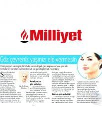 Op. Dr. Ahmet Gökdere – Milliyet – Göz Çevreniz Yaşınızı Ele Vermesin