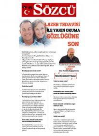 Op. Dr. Ertan Sunay – Sözcü – Lazer Tedavisi ile Yakın Okuma Gözlüğüne Son