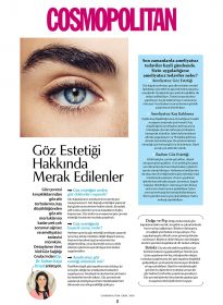 Op. Dr. Sultan Kaya Ünsal – Cosmopolitan – Göz Estetiği Hakkında Merak Edilenler