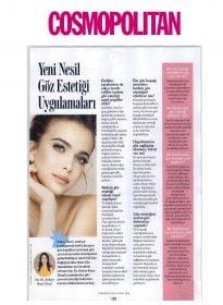 Op. Dr. Sultan Kaya Ünsal – Cosmopolitan – Yeni Nesil Göz Estetiği Uygulamaları