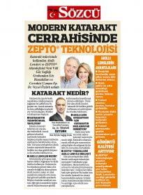 Op. Dr. Veysel Öztürk – Sözcü – Modern Katarakt Cerrahisinde Zepto Teknolojisi