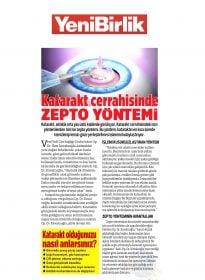 Op. Dr. Özer Kavalcıoğlu – Yeni Birlik Gazetesi – Katarakt Cerrahisinde Zepto Yöntemi